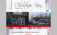 Stratton Audley Christmas Barn
